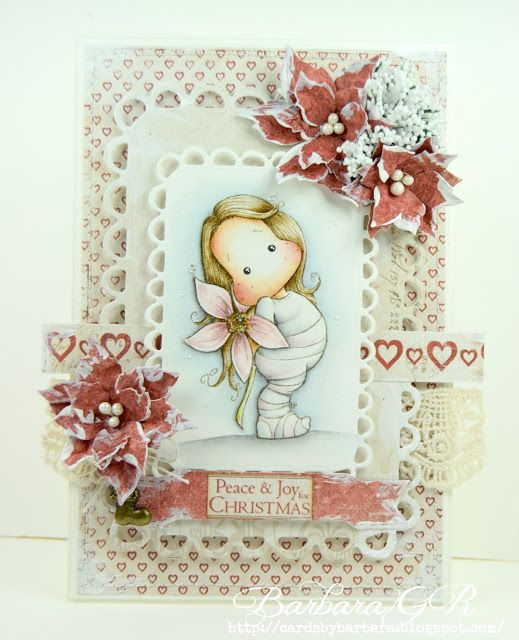 """Cards by Barbara: """"Frosted Florals"""" for Creative Inspirations challe..."""