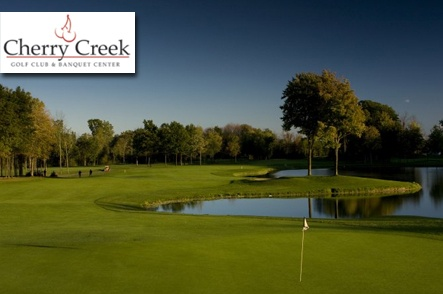 $29 for 18 Holes with Cart and Range Balls at Cherry Creek Golf Club and Banquet Center in Shelby Township, Michigan!