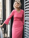 Lavinia Ponte Dress J0019 Smart Day Dresses at Boden