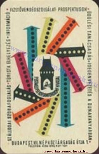 1961 - 1961_0069 - Régi magyar kártyanaptárak