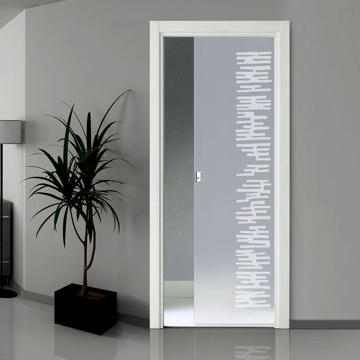 Eclisse 10mm Nebbia Sandblasted Design on Clear or Satin Glass Pocket Door & 1115 best CONTEMPORARY DOORS images on Pinterest | Interior doors ...