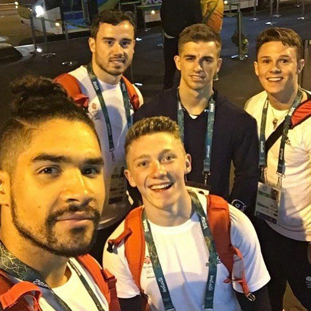 Louis Smith, Nile Wilson, Max Whitlock  #BringOnTheGreat #Rio2016 #OlympicTeamFinal