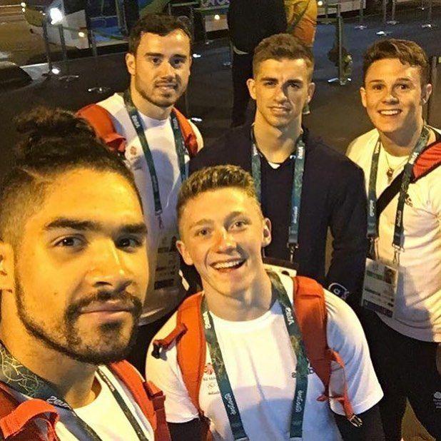 Louis Smith, Nile Wilson, Max Whitlock  #BringOnTheGreat #Rio2016 #OlympicTeamFinal