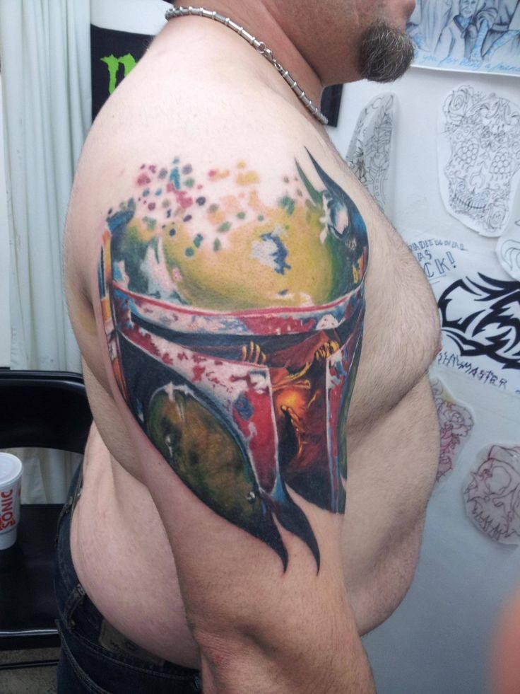 star wars tattoos | Weird Tattoos: When Creativity Clashes ...