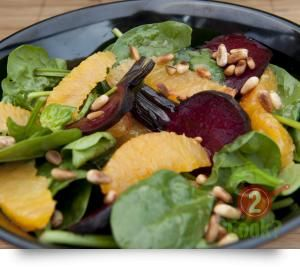 Roasted Beetroot and Orange Salad, French Vinaigrette | What2Cook