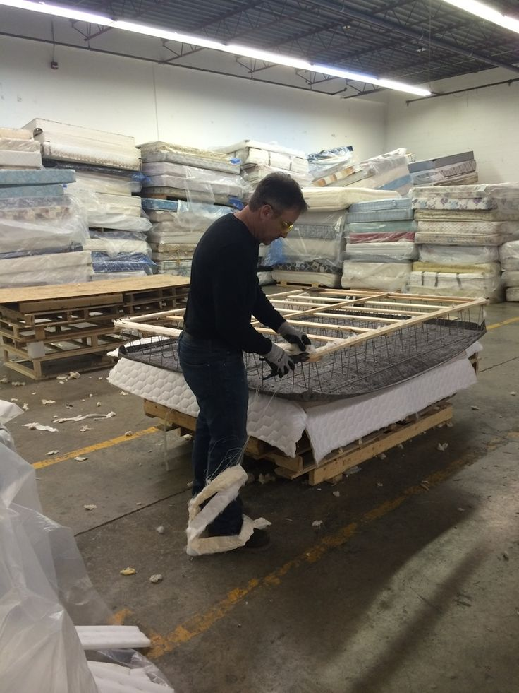 Re-Matt's Operations Manager, Ian - recycling mattresses and boxsprings in #YYC, Alberta.