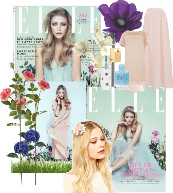 """""""Recreate your favourite magazine cover april 2014"""" by theacademyofme on Polyvore"""
