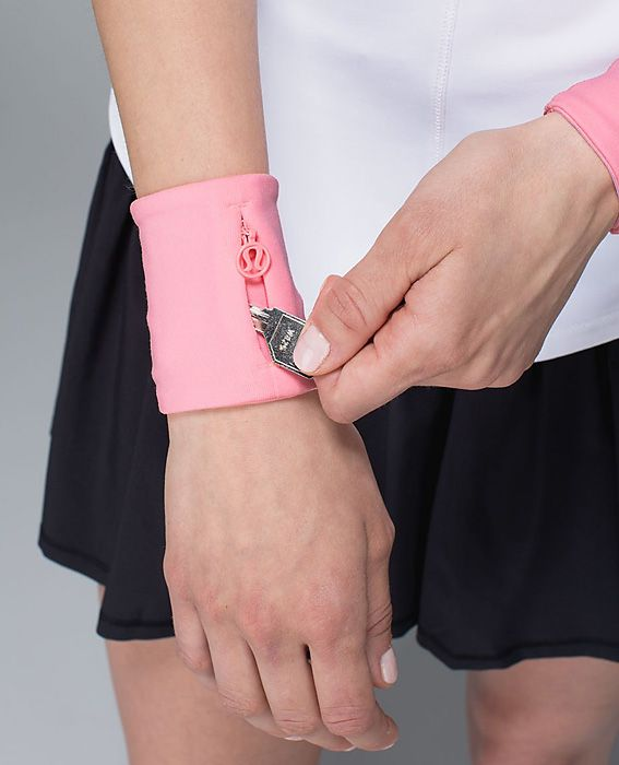 Must-Have Products for Your Workout: FOR THE OUTDOOR ENTHUSIAST: Keep your essentials from getting lost with these cool cuffs. Sweat Cuff, $18; lululemon.com