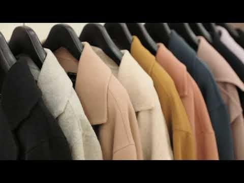 코트메이킹/ 코트 만들기 / Coat Making film / Making a coat - YouTube
