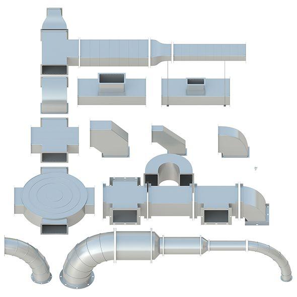 Ceiling Ventilation 27 3d Models Ventilation 3d Model Web