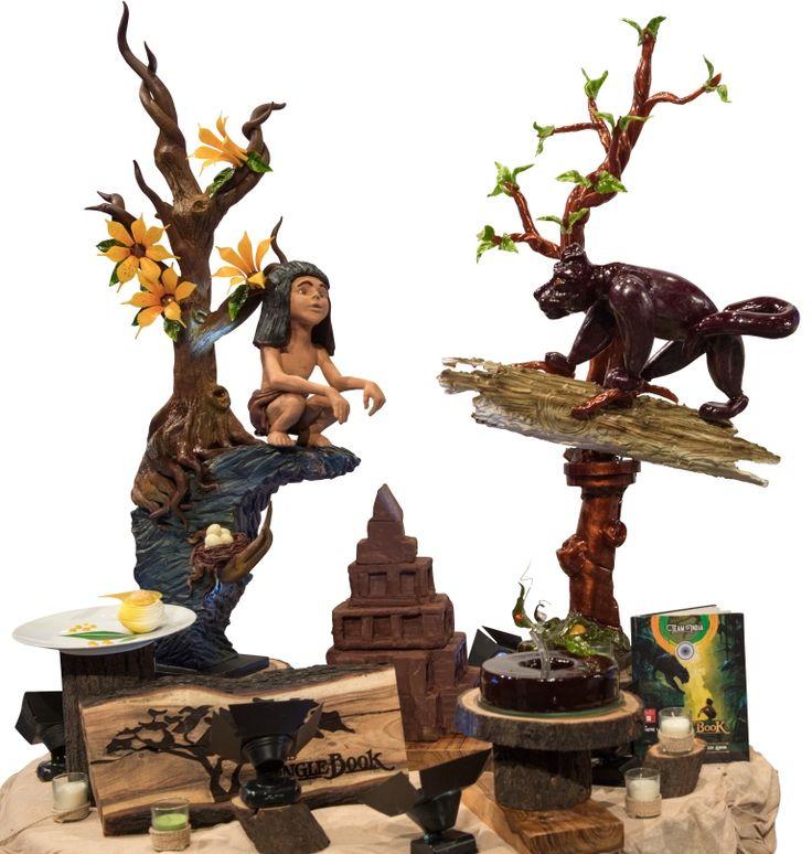 Coupe du Monde de la Patisserie_JulieMyrtille_Sugar & Chocolate Sculpture_India