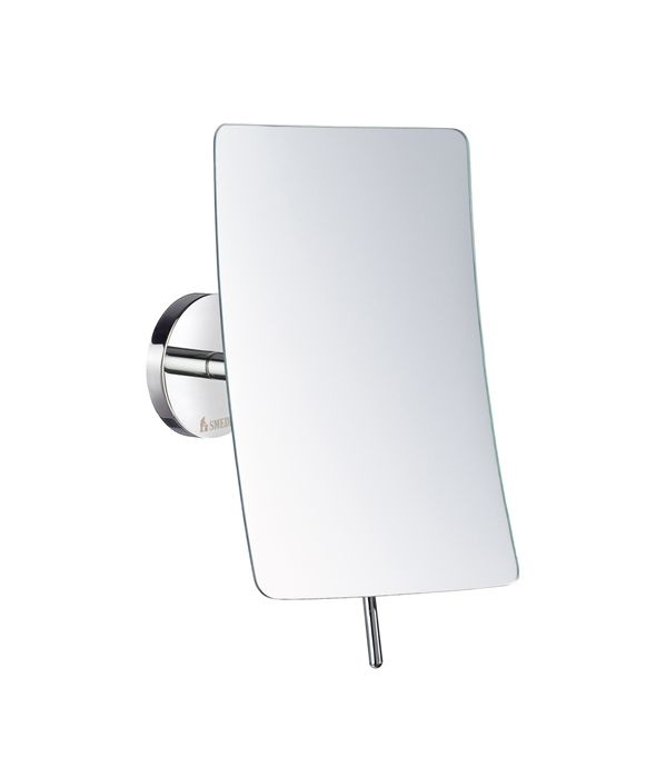 Fk433 outline swivel shaving and make up mirror in Polished chrome bathroom mirrors