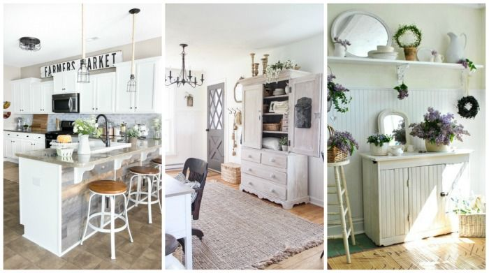 Best Farmhouse Blogs to Follow on Pinterest | curated by www.knickoftime.net featuring http://www.blesserhouse.com/ | http://lovegrowswild.com/ | http://town-n-country-living.com/