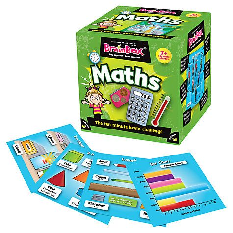 Buy BrainBox Maths Memory Game Online at johnlewis.com