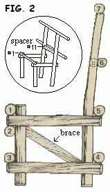 Willow Branch Chairs | Free Craft Project
