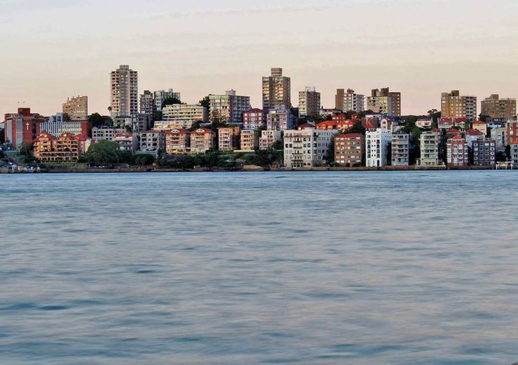 """""""Kirribilli at sunset. Little boxes on the hillside. I wonder if they're made of ticky tacky? …"""""""