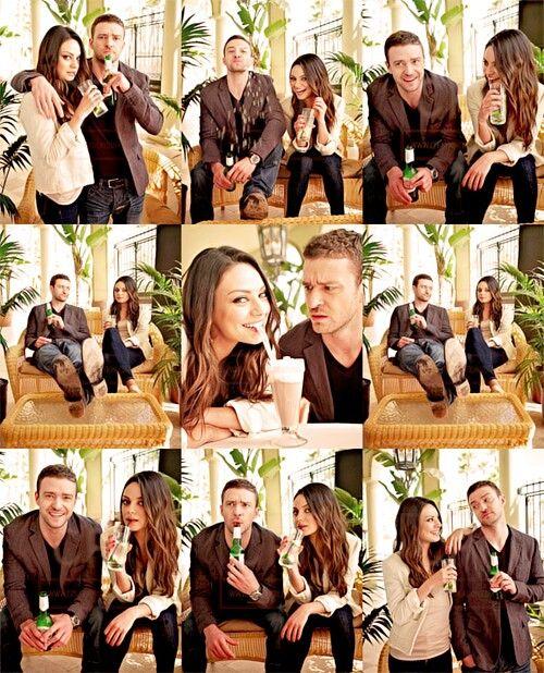 Mila Kunis & Justin Timberlake