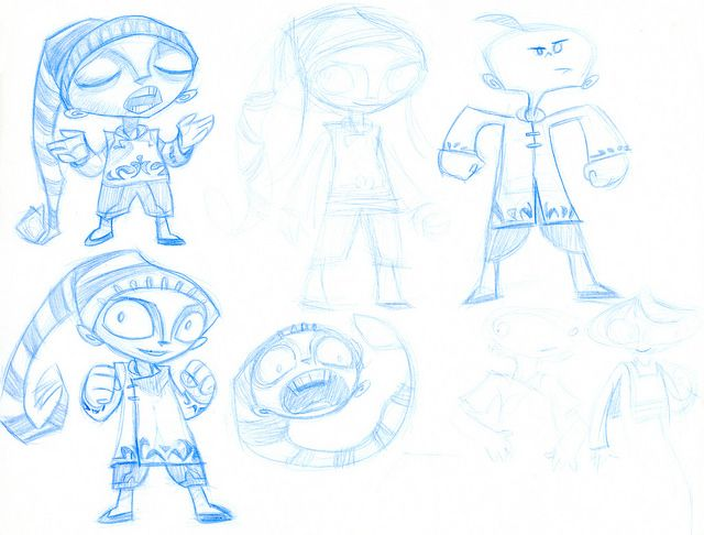 Psychonauts Concept Art - Razputin (Dart) | Double Fine Productions | Flickr