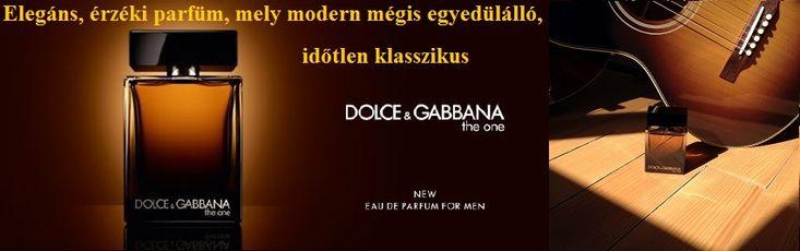 Dolce & Gabbana The One for Men férfi parfüm  Egy elegáns, érzéki parfüm, amely modern, mégis egyedülálló, egy időtlen klasszikus. Ez természetesen a Dolce&Gabbana The One férfi illata.
