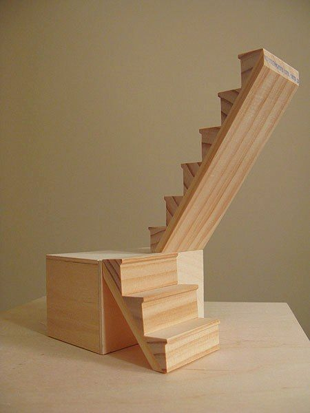 Otterine, shows how to create turn around staircase
