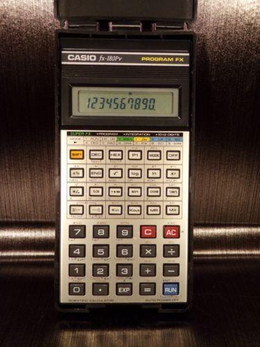 Calculatrice calculator scientific scientifique CASIO FX-180PV