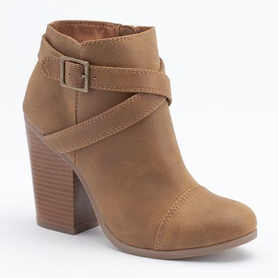 LC Lauren Conrad Booties for Fall