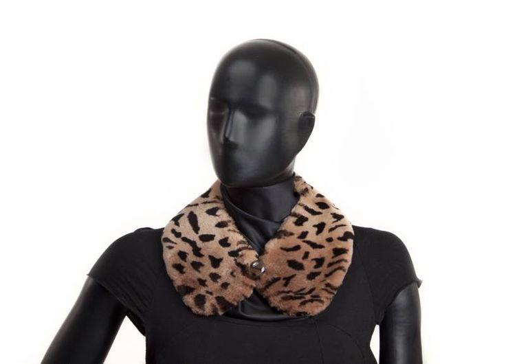 Collo trasferibile castoro stampa leopardo