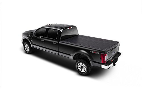 BAK Industries 39330 Tonneau Cover:   The Revolver X2 hard rolling truck bed cover features exclusive automatic rotational locking rails that secure the cover the entire length of the bed on each side. This hard aluminum roll-up cover easily rolls up with one-handed operation and allows use of every inch of the truck bed without blocking your rear window. This cover does it all with unrivaled strength, security and style.