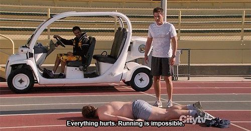 "He hates running just as much as the rest of us. | Community Post: 10 Reasons Andy Dwyer From ""Parks And Recreation"" Should Be Your Best Friend"