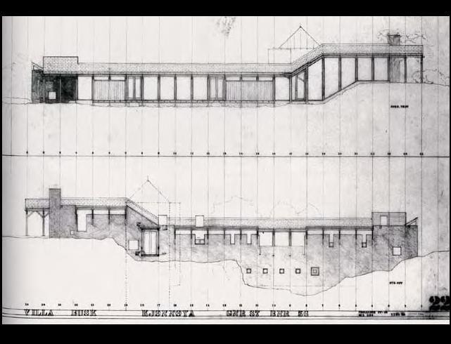"Sverre Fehn: ""Villa Busk"" Bamble, Norway 1987-1900"