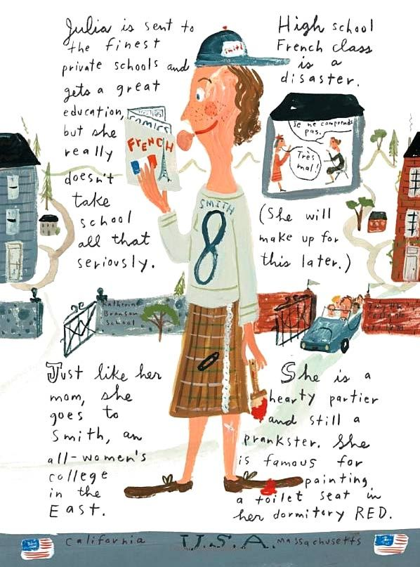 43 best early chapter book series with girl protagonists images on a page from the picture book about julia child by jessie hartland fandeluxe Gallery