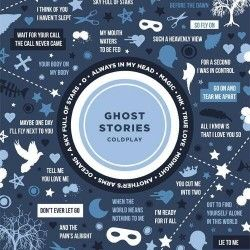 Featuring songs and mini quotes from lyrics of Coldplay's latest album -- Ghost Stories
