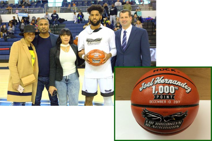 Congratulations to Joel on scoring his 1000th point for the LIU Brooklyn Blackbirds. Well done!  Time to score your own hand painted sports awards? Visit sochasportsgifts.com today!