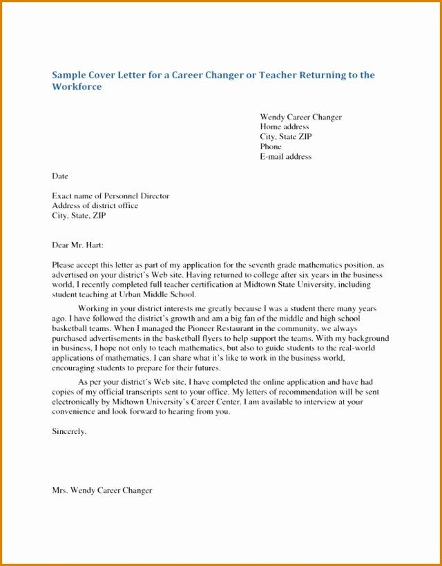 26+ Cover Letter For Teaching Position | Cover Letter Tips | Cover ...