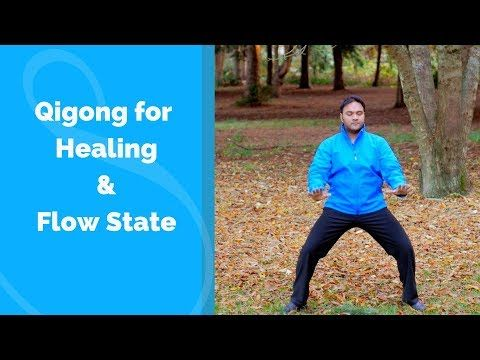 Qigong Routine for Healing and Flow State with Jeffrey Chand