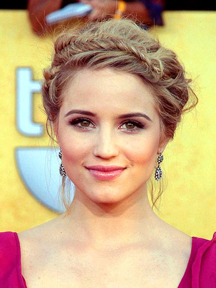 Dianna Agron - beautiful hair & make-up