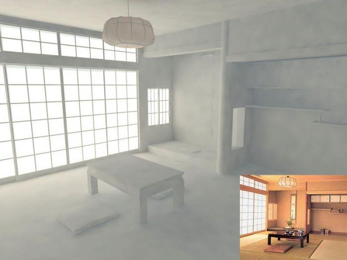 M s de 25 ideas incre bles sobre decoraci n japonesa en for Casa clasica japonesa
