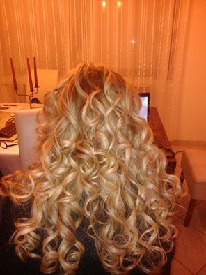 Hair #hair #curly #wavy #blonde