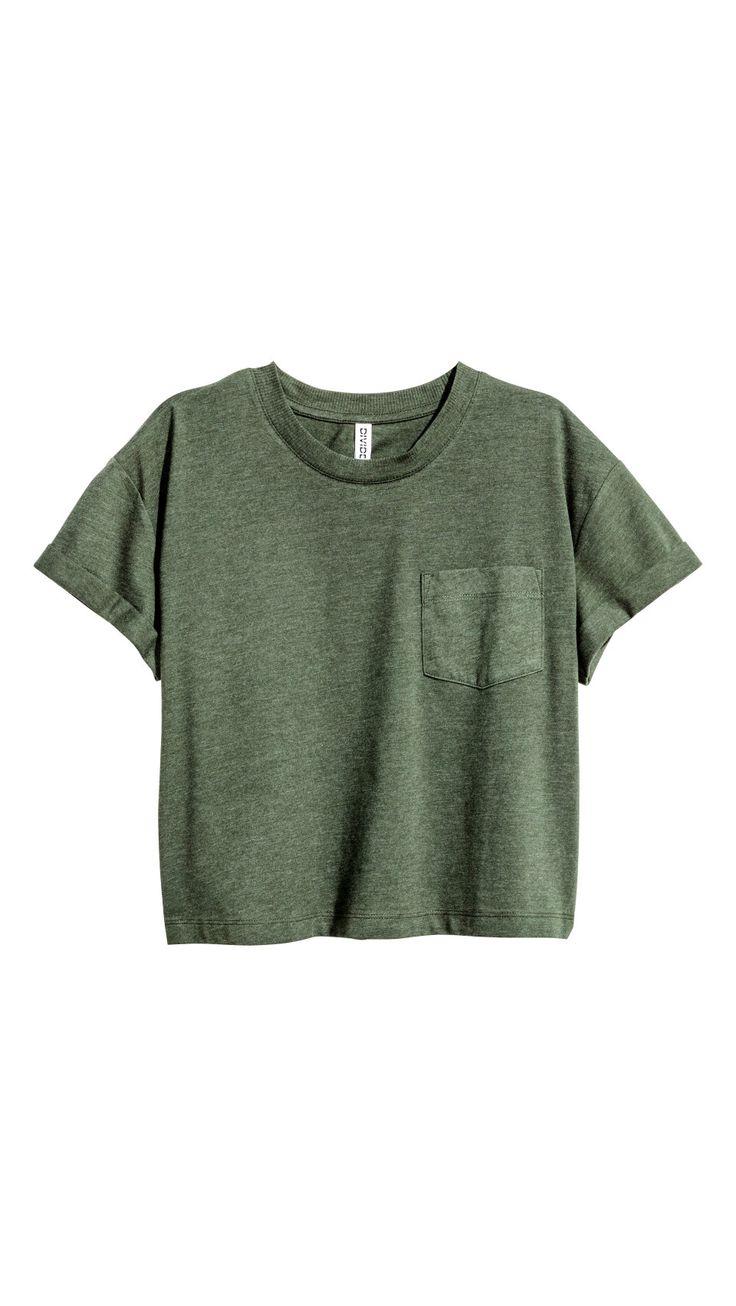 Military Green Tee