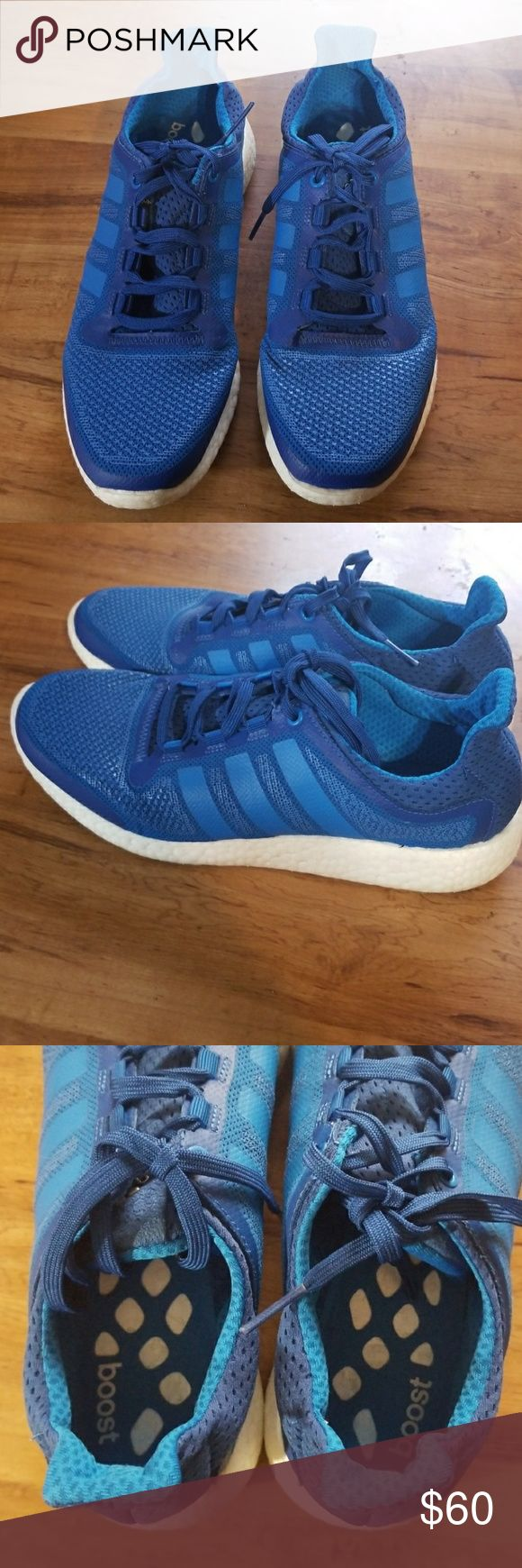 Adidas Pure Boost Very gently worn Adidas Pure Boost size 10 adidas Shoes Sneakers