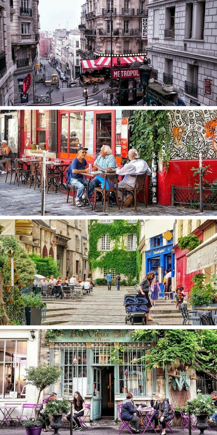 A guide to finding cute parisian streets in Paris France.