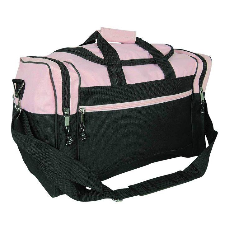 17 Blank Duffle Bag Duffel Travel Size Sports Durable Gym