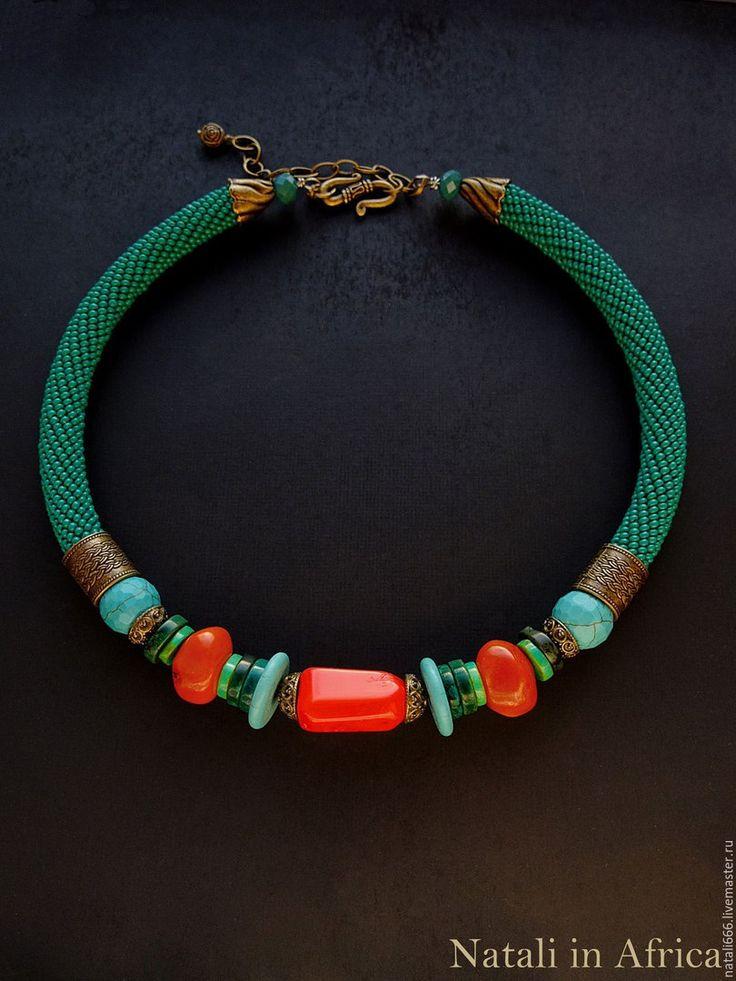 Этно- украшения от мастера ~ Natali in Africa ~<br>https://www.livemaster.ru/nataliafrica