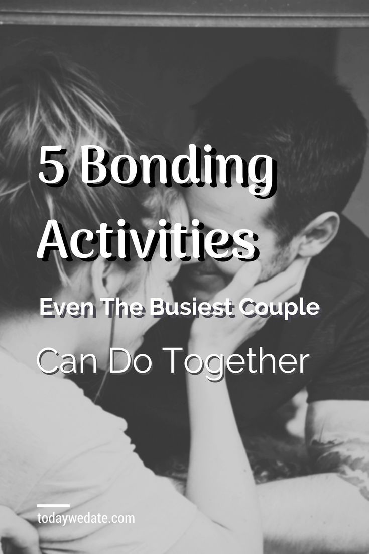 Bonding ideas for couples