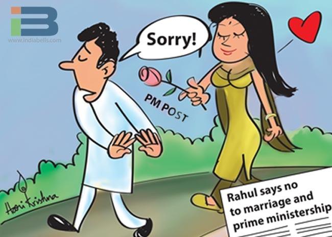 Rahul Marriage Cartoon