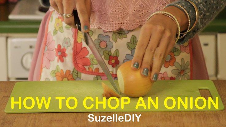 SuzelleDIY - How to Chop an Onion