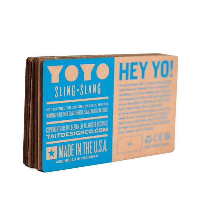 """Detroit'li bağımsız tasarım stüdyosu TAIT Design Co., bu aralar en çok hoşuma giden iki objenin yaratıcısı. Bunlardan biri;el işçiliğine, paketlemesine ve üretim aşamasındaki detaylara hayran kaldığım modüler bir modern kinetik sanat örneği olan Precise Mobile. Diğeri ise el yapımı ahşap bir yoyo. 2015'te ambalaj tasarımı endüstrisinin en saygın platformu The Dielinetarafından """"Oyun, Oyuncak, Spor"""" kategori …"""