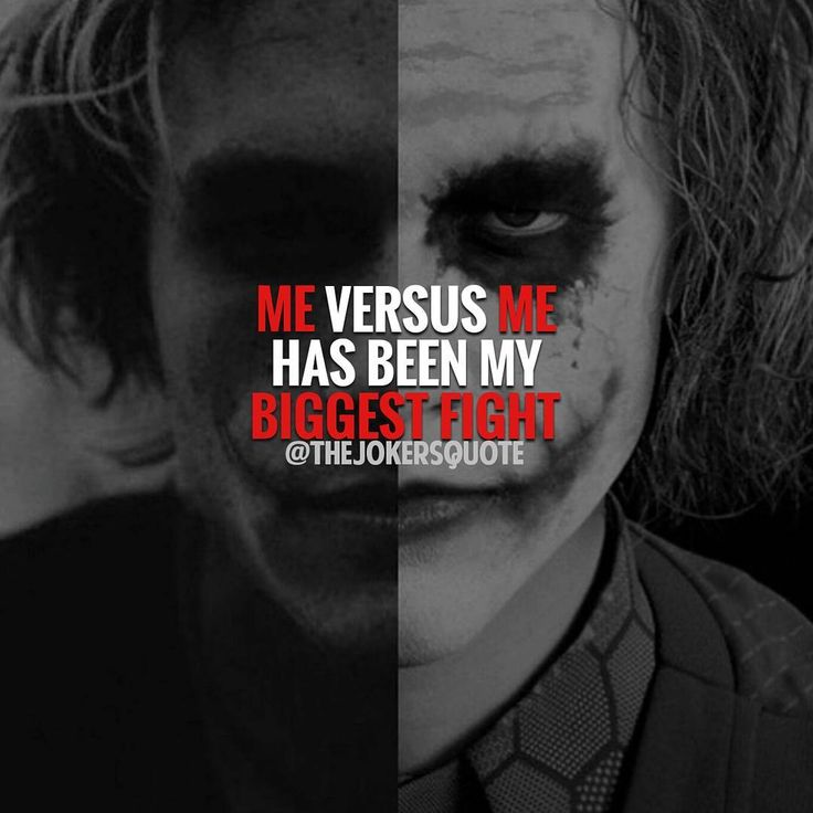3,537 Likes, 17 Comments Joker Quotes (thejokersquote