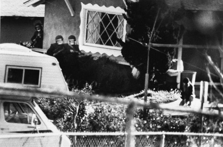 """This little known house is where Brenda Spencer started shooting school children on the 29th of January 1979.  She was the original mass shooter and when asked why she did it she simply explained that she didn`t like Mondays.  She is still in prison. The address is 6363 Lake Atlin Avenue in San Carlos,San Diego.  House has not changed a bit and looks to be still owned by the same family.  Bob Geldof based his song """"I don`t like Mondays"""" on this sad story."""