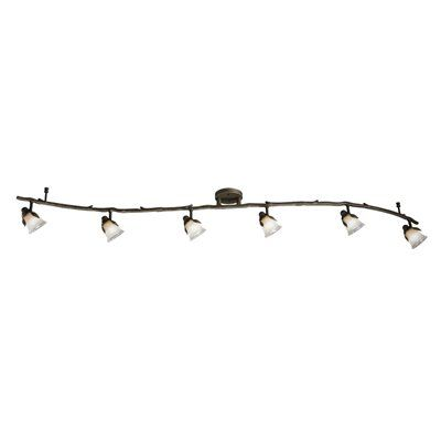 Portfolio Branches 6-Light Painted Olde Bronze Fixed Track Light Kit